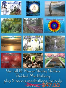 Power Walks Within Guided Meditation Set