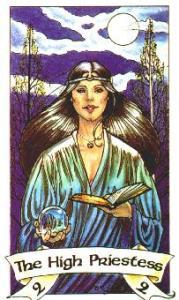 High Priestess - Robin Wood Tarot
