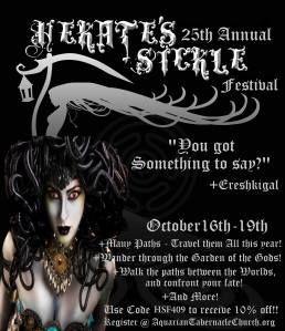 Hekate's Sickle Festival featuring Ereshkigal