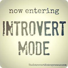 introvert mode