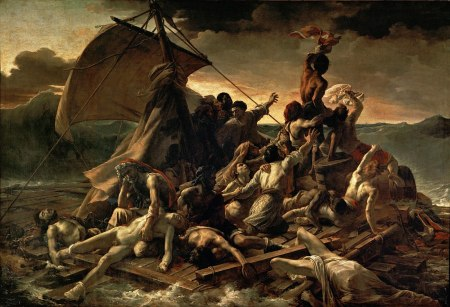 'The Raft of the Medusa' by the French painter Théodore Géricault.