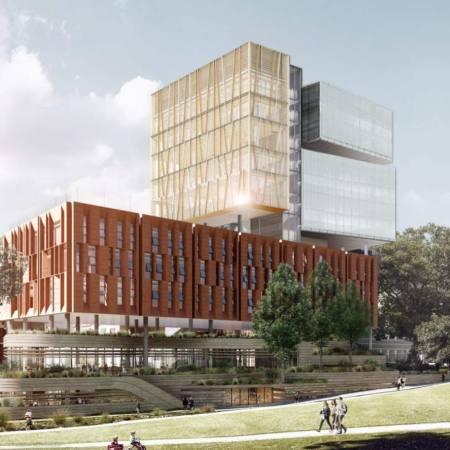 New Inner Sydney High School on Cleveland Street