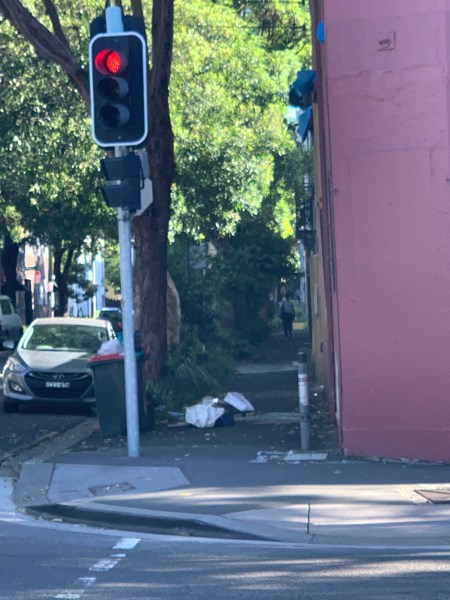 Rubbish in Chippendale
