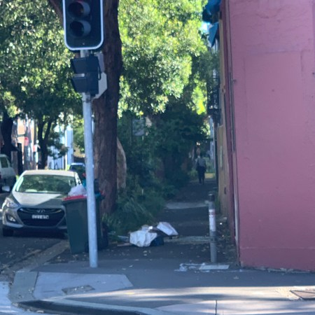 Rubbish in Chippendale