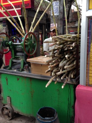 Sugarcane juice kiosk
