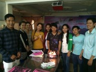 Susan's English Class - BDay celebration