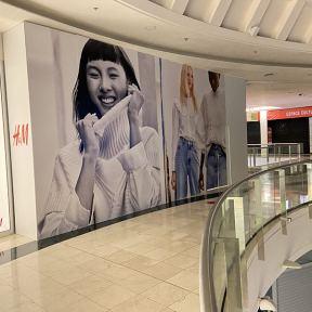 Palissade Chantier Bois H&M Centre Commercial SCC Evry2