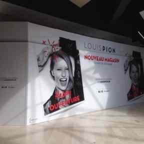 Palissade Chantier Louis Pion Centre Commercial Galimmo Cora Houdemont