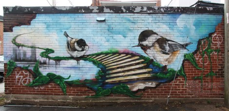 A'Shop mural in Rosemont