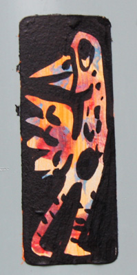 sticker by unidentified artist