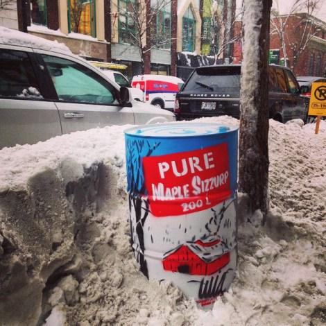WhatIsAdam Maple Sizzurp oversized can; photo © Whatisadam