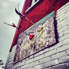 Whatisadam arrow installation photo © Whatisadam