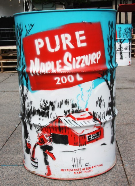 Oversized maple sizzurp can by WhatIsAdam