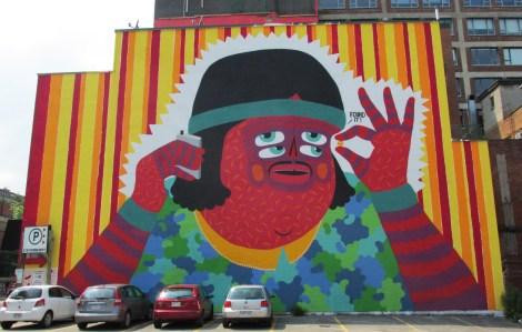 Kashink mural for Mural Festival 2014