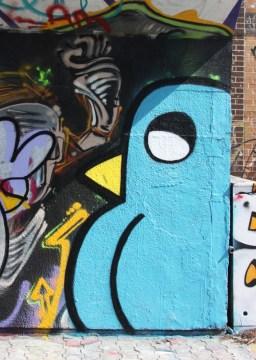 ROC514 piece on Charlevoix legal graffiti wall