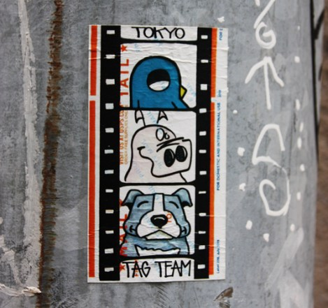 collaboratin sticker between ROC514. Sien514 and one more unidentified from the Tokyo Tag Team