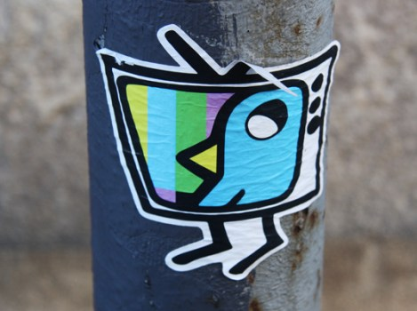 collaboration sticker between ROC514 and Sleepisfamous