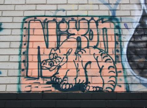 Nixon piece found in Ahuntsic alley