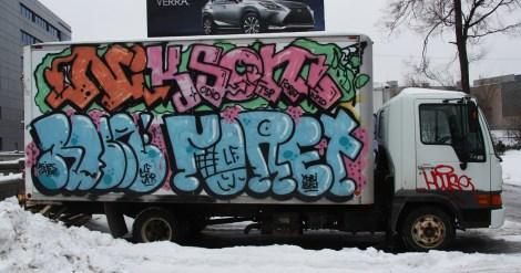 Nixon, Robe, Fore mobile graffiti