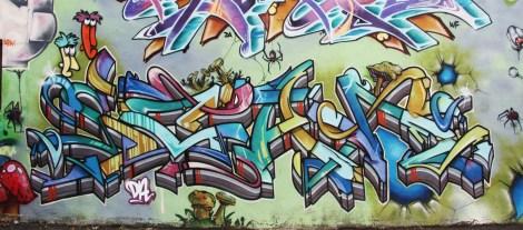Scaner graffiti on the Plateau