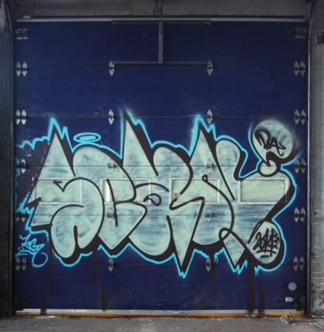 Scaner in abandoned industrial building