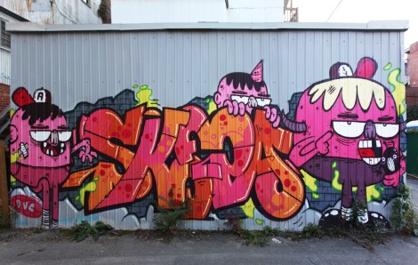 Astro (characters) and Skepa (letters) in Hochelaga