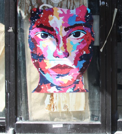 Wheatpaste by Manyoly