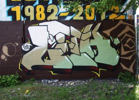 Lith graffiti