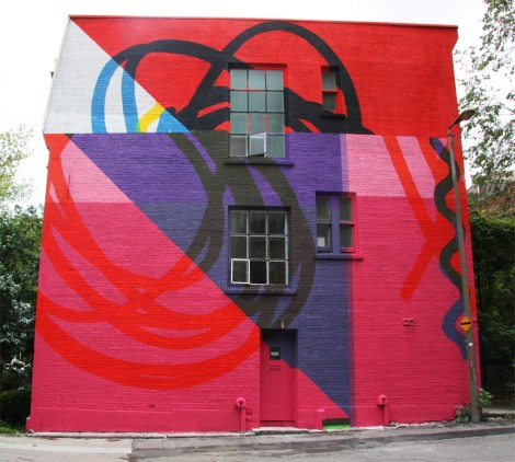 Elian's contribution to the 2015 edition of Mural Festival