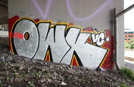 Owk representing VC underneath expressway