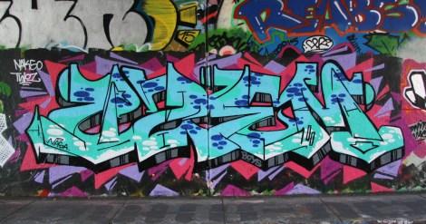 Azem(?) at Rouen legal graffiti tunnel
