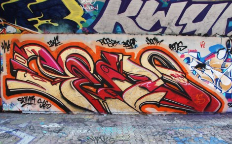 Cens at the PSC legal graffiti wall