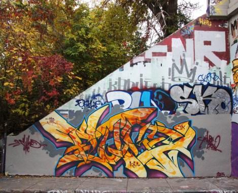 Fluke at the Rouen legal graffiti tunnel