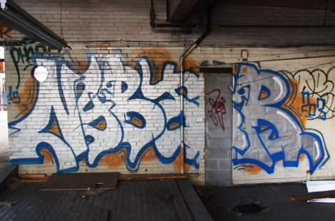 Nybar found in the abandoned Transco