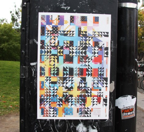 paste-up by Madame Gilles