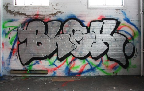 Blek in the abandoned Transco