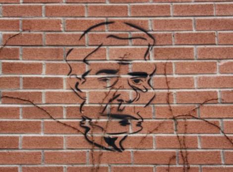 stencil by unidentified artist, perhaps Dookie3?