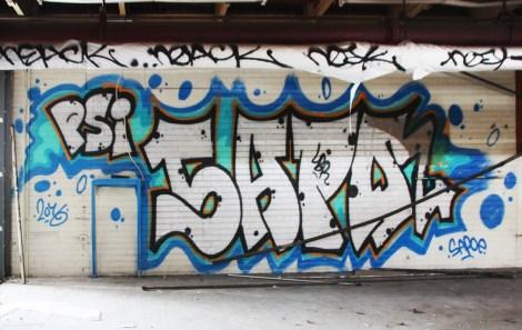 Sapoe found inside the abandoned Transco