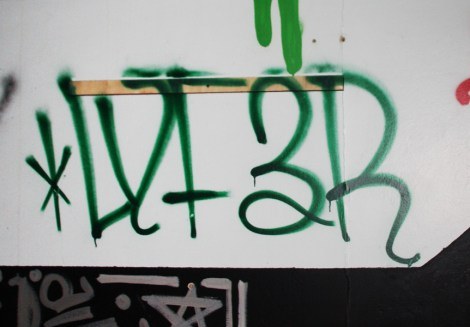 tag by Lyfer in the abandoned Transco