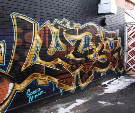 Lyfer piece in St-Henri