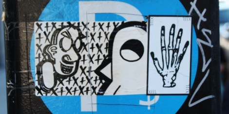 sticker collaboration with Cantstopink and ROC514