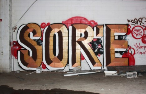 Sor'e in abandoned building in Hampstead