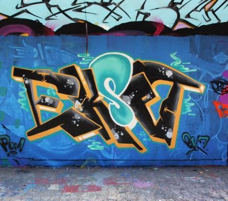 EK7 at the PSC legal graffiti wall