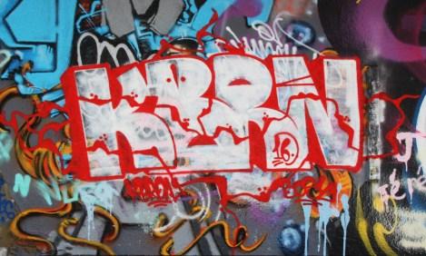 Kbron at the PSC legal graffiti wall