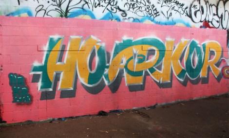 Hoarkor aka HRKR in Côte-des-Neiges