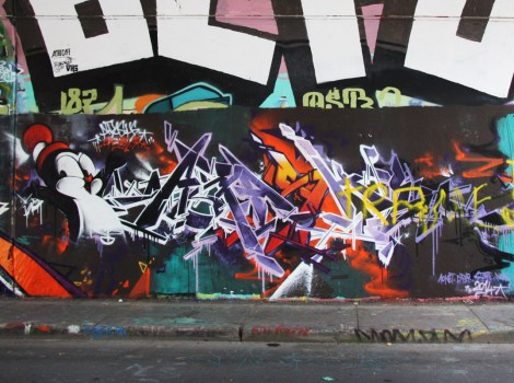 Apashe at the Rouen legal graffiti wall