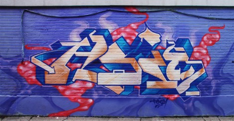 Hsix in a Rosemont alley