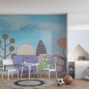 Flower Kids Wallpaper