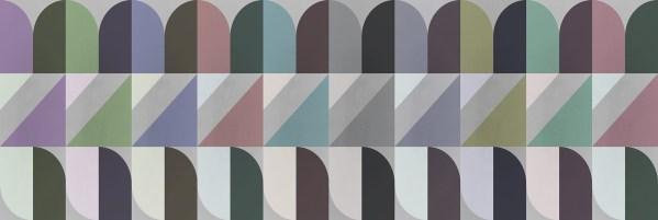 Diagonal Arcs Wallpaper