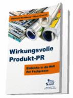Buch Rezension Wirkungsvolle Produkt PR buchcover wirkungsvolle produkt pr kommunikation eb 828